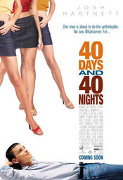 Poster 40 Days and 40 Nights