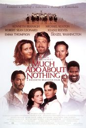 Poster Much Ado About Nothing