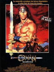 Poster Conan the Destroyer