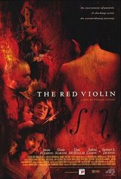 Poster Le violon rouge