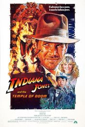 Poster Indiana Jones and the Temple of Doom