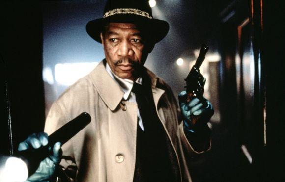 Morgan Freeman în Se7en
