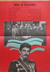 Poster Rug și flacără
