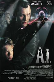 Poster A.I. - Artificial Intelligence