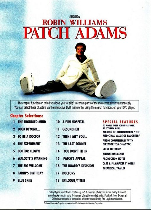 analysis of the movie patch adams