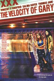 Poster The Velocity of Gary