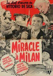 Poster Miracolo a Milano