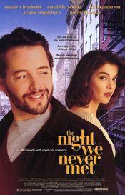 Poster The Night We Never Met