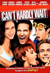 Poster Can't Hardly Wait