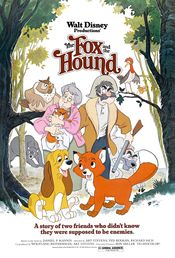 Poster The Fox and the Hound