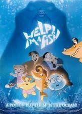 Poster Hjælp, jeg er en fisk