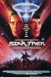 Poster Star Trek V: The Final Frontier