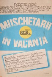 Poster Mușchetarii în vacanță