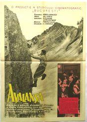 Poster Avalansa