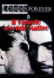 Poster Il vangelo secondo Matteo