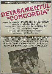 Poster Detasamentul Concordia
