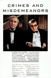 Poster Crimes and Misdemeanors
