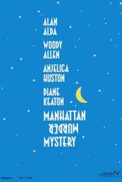 Poster Manhattan Murder Mystery