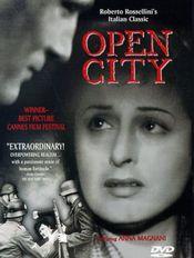 Poster Roma, citta aperta