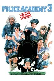 Poster Police Academy 3: Back in Training
