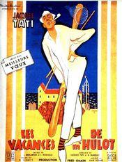 Poster Les vacances de Monsieur Hulot