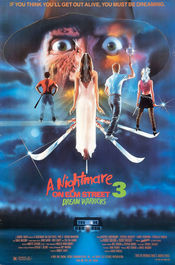 Poster A Nightmare On Elm Street 3: Dream Warriors