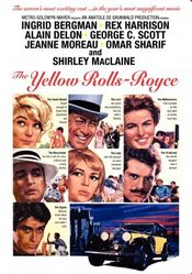 Poster The Yellow Rolls-Royce