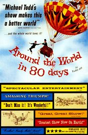 Poster Around the World in Eighty Days