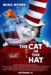 Poster Dr. Seuss's The Cat in the Hat
