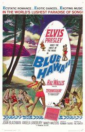 Poster Blue Hawaii