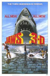 Poster Jaws 3-D