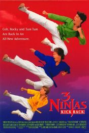 Poster 3 Ninjas Kick Back