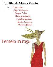 Poster Femeia în roșu
