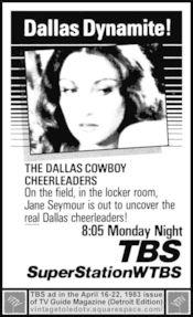 Poster Dallas Cowboys Cheerleaders