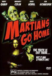 Poster Martians Go Home