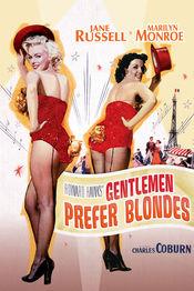 Poster Gentlemen Prefer Blondes