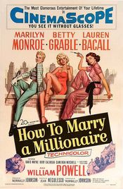Poster How to Marry a Millionaire