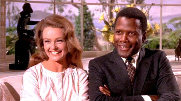 Katharine Houghton, Sidney Poitier în Guess Who's Coming to Dinner