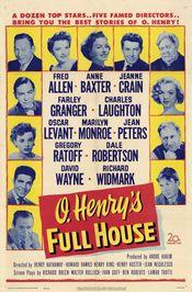 Poster O. Henry's Full House
