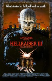 Poster Hellraiser III: Hell on Earth