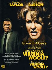 Poster Who's Afraid of Virginia Woolf?