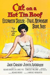 Poster Cat on a Hot Tin Roof