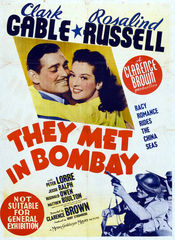 Poster They Met in Bombay