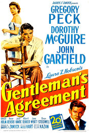 Poster Gentleman's Agreement