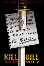 Poster Kill Bill: Vol. 2