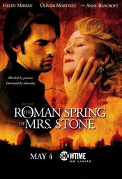 Poster The Roman Spring of Mrs. Stone