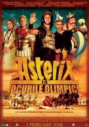 Poster Astérix aux jeux olympiques