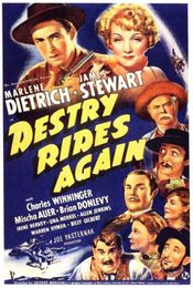 Poster Destry Rides Again