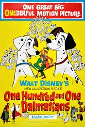 Poster One Hundred and One Dalmatians