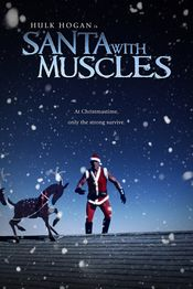 Poster Santa with Muscles
